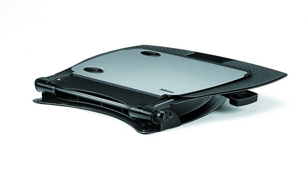 Fellowes Professional Series Laptop Riser Seated