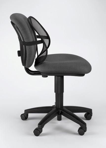 Fellowes Office Suites Mesh Back Support Seated