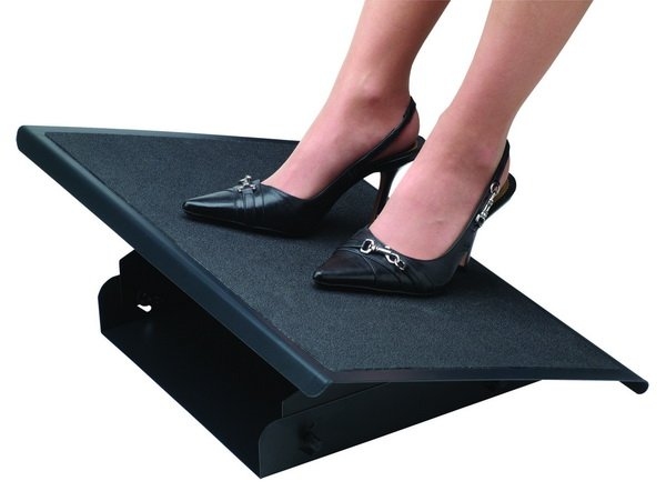 Fellowes Professional Series Steel Footrest Seated