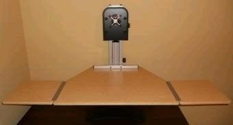 Kangaroo Elite Sit Stand Workstation Seated