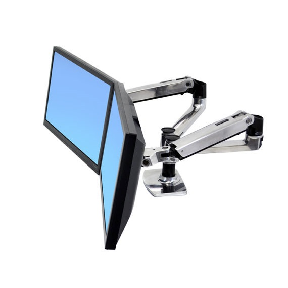Ergotron LX Dual Side by Side Arm