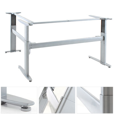 Light Weight L Shape Electric Sit Stand Desk