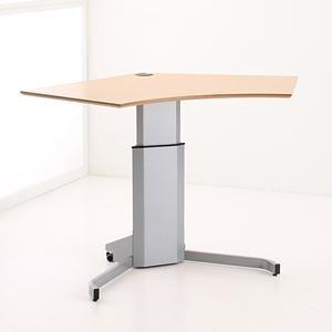 Simple Pedestal Sit Stand Desk