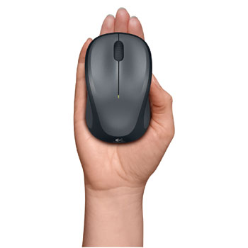 Logitech M235 Wireless Mouse Seated