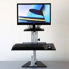 Kangaroo Junior Sit Stand Workstation