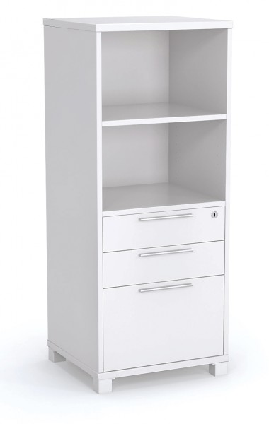 Tower Storage Bookcase with Drawers