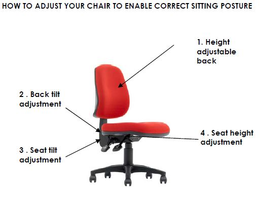 magnum drafting chair seated