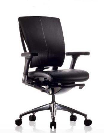 Eaton Leather Executive Chair