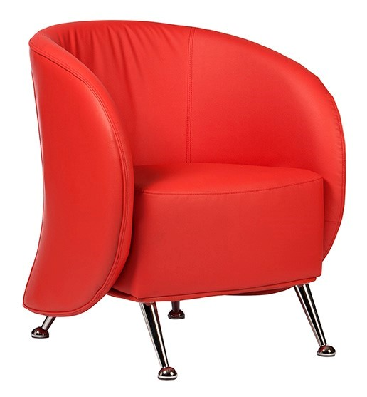 Ruby Soft Chair Red