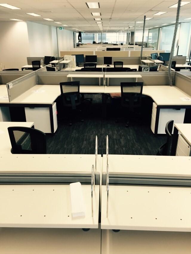 Recent Project Mott Macdonald Fitout Seated