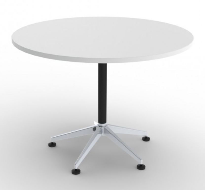 Mod 5 Star Round Meeting Table Seated