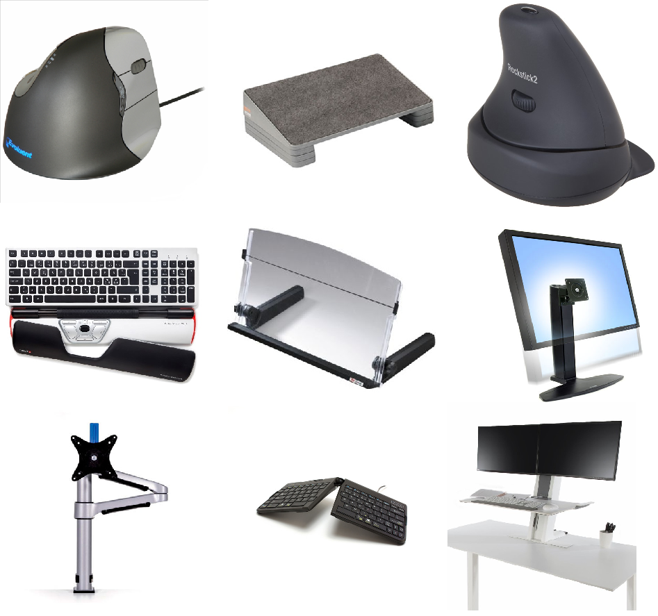 A Handy Guide To Ergonomic Equipment What It Does And Why You May Need It on Simple Office Work Stations