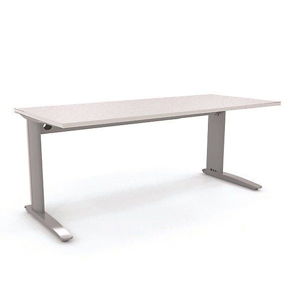 Aero Straightline Desk Seated