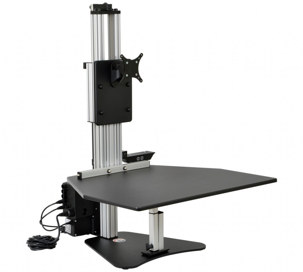 Kangaroo Electric Sit Stand Workstation Seated