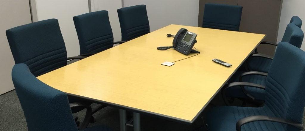 Austrade Meeting Room Boss Chairs a