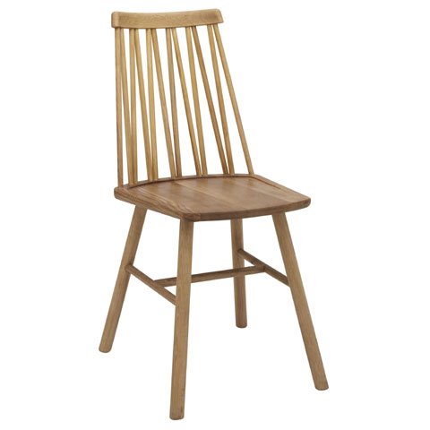 Zigzag chair Oiled Oak Timber finish