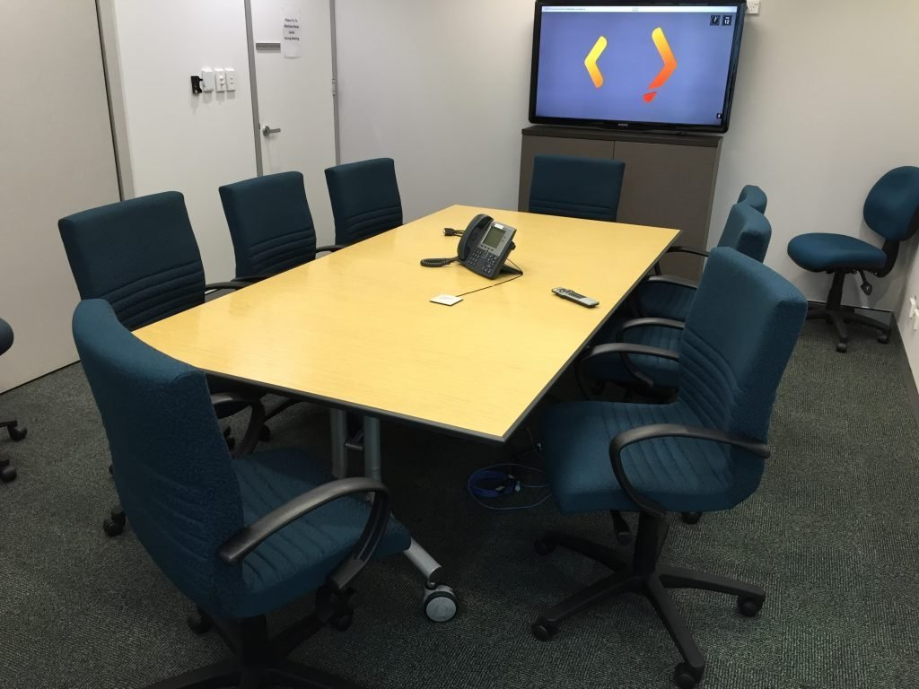 Austrade Meetign Room Boss Chairs