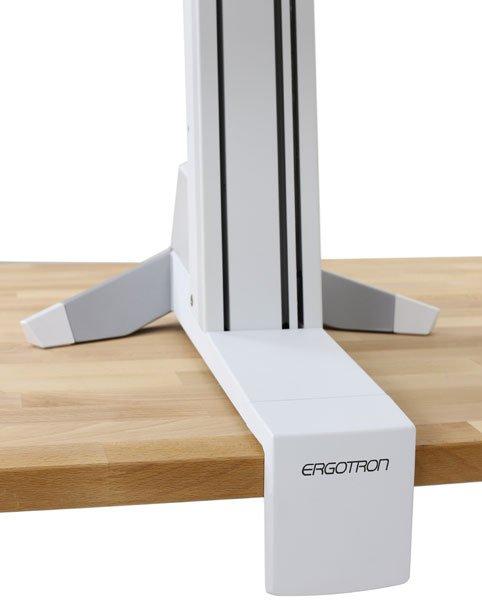 Ergotron Workfit S Dual White Seated