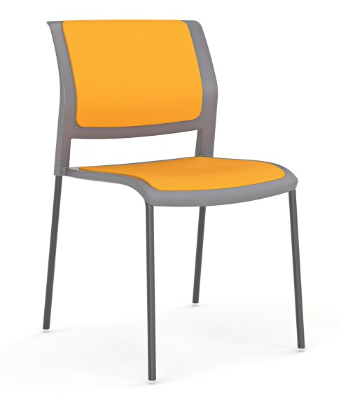 Game 4 Leg Stacking Chair Seated