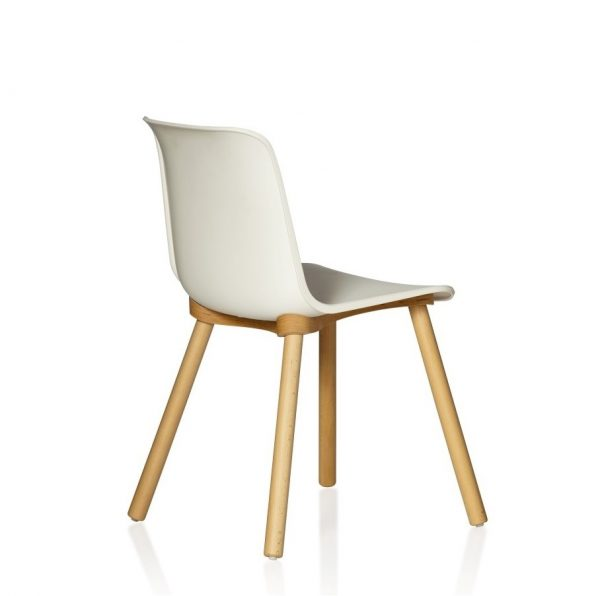 Europa-Chair-Timber-Leg-White-Back