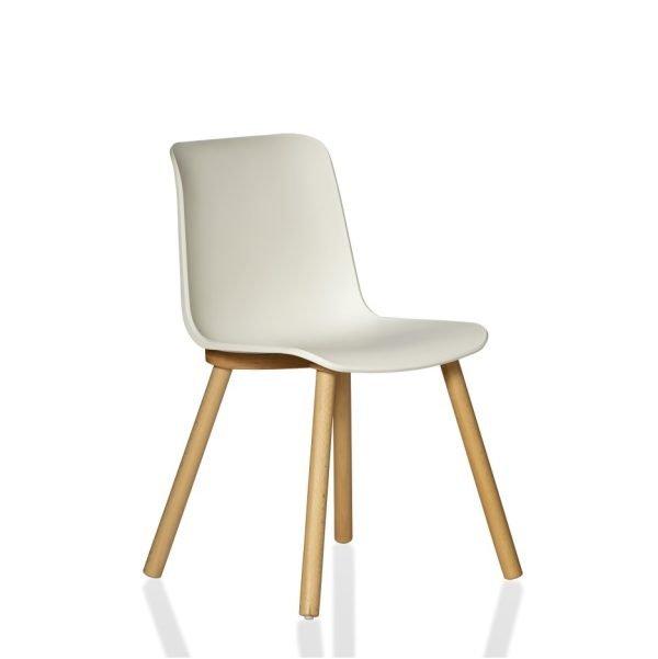Europa-Chair-Timber-Leg-White-Side