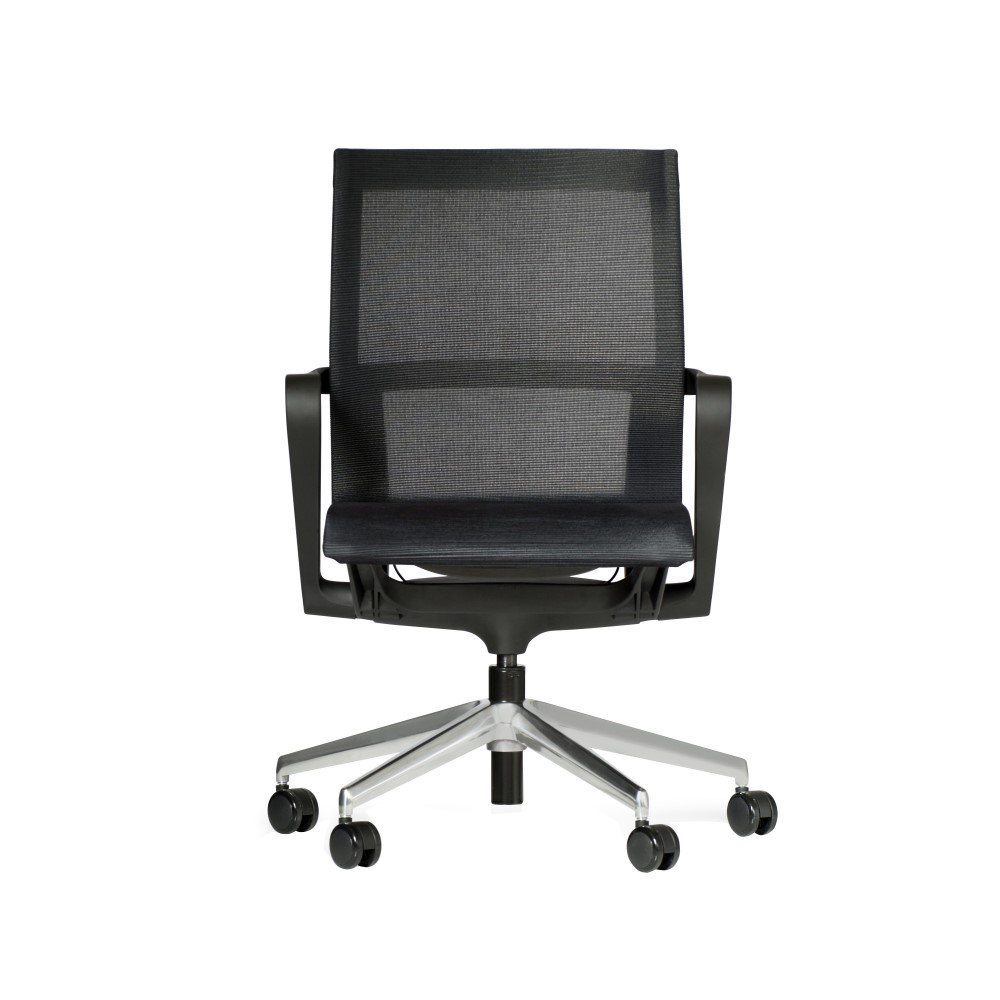 Vega Mesh Meeting Chair Seated