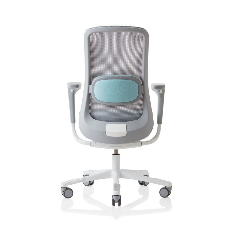 H197G SoFi Mesh High Back Chair Seated : HAGSoFi7500meshGreyWhiteGreyback <strong>High Sitting</strong> Desk Chairs from seated.com.au size 750 x 752 jpeg 59kB