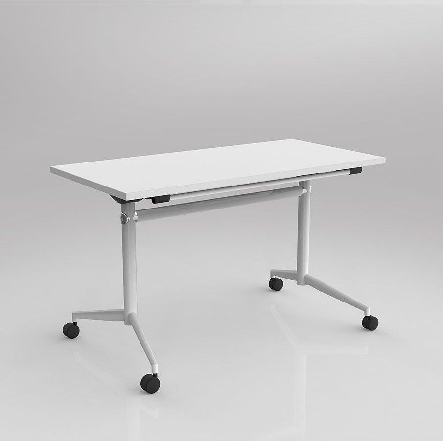 Beau Uni Flip Table White UNF 126W