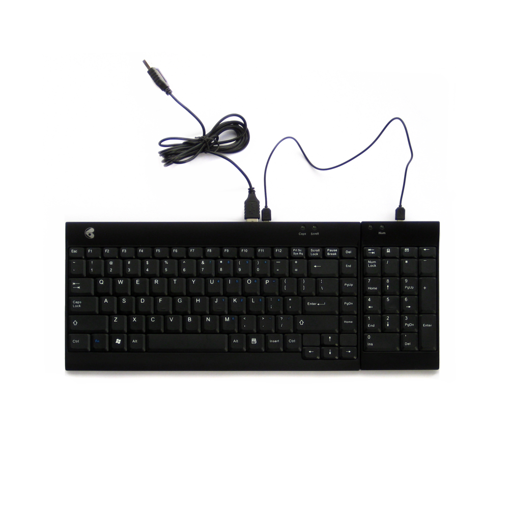 Ergotight Wired Combo Keyboard Seated