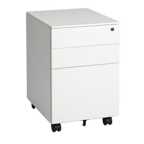 Ultimet-Storage-Mobile-Pedestal-2-Box-1-File-Drawer-Metal-Storage-White