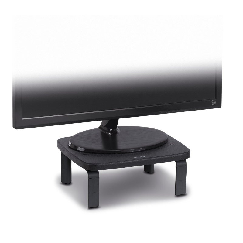 Kensington Smartfit Monitor Stand Black Seated
