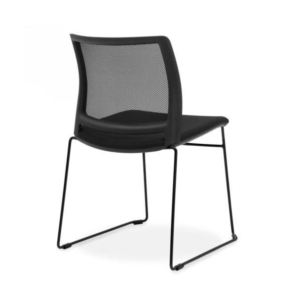 Oxygen-mesh-sled-chair-black-back