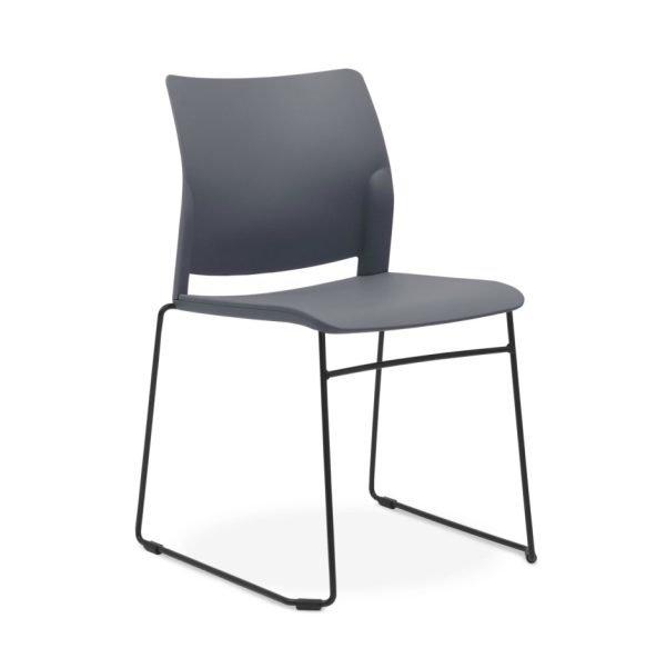 Oxygen-sled-chair-grey