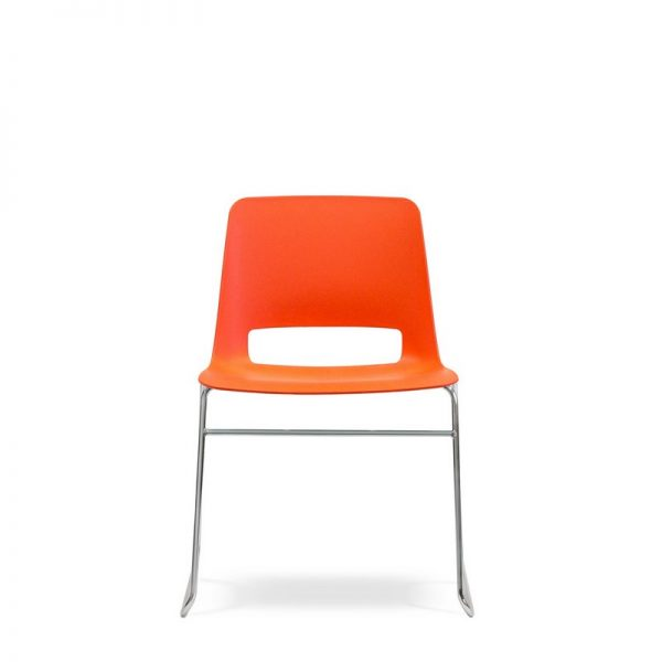 Unica Sled Meeting Chair