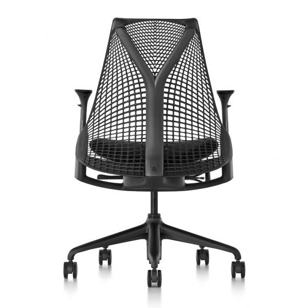 Herman Miller Sayl Chair with Arms Rear