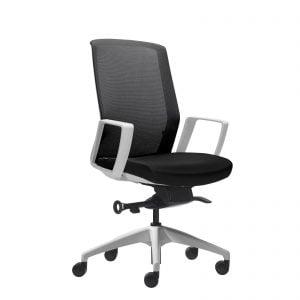Aveya Task Chair - White