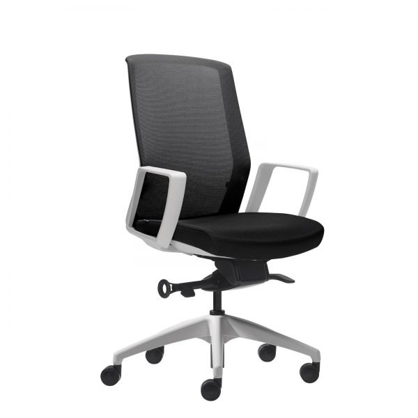 Aveya Task Chair - White