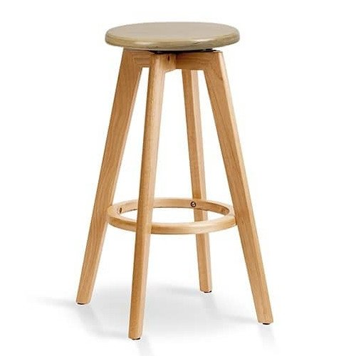 Advanta Pier Stool Timber