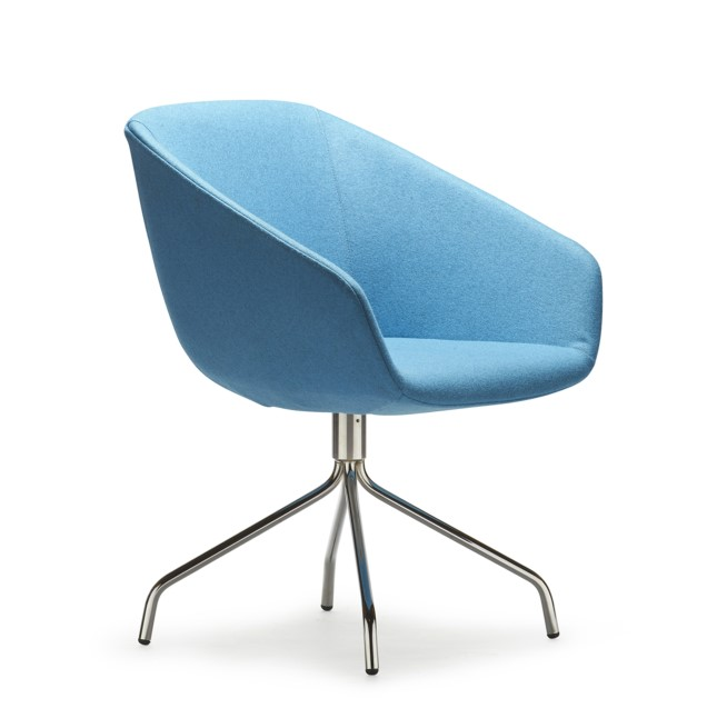 Delphi Hi Rise Lounge Chair Seated