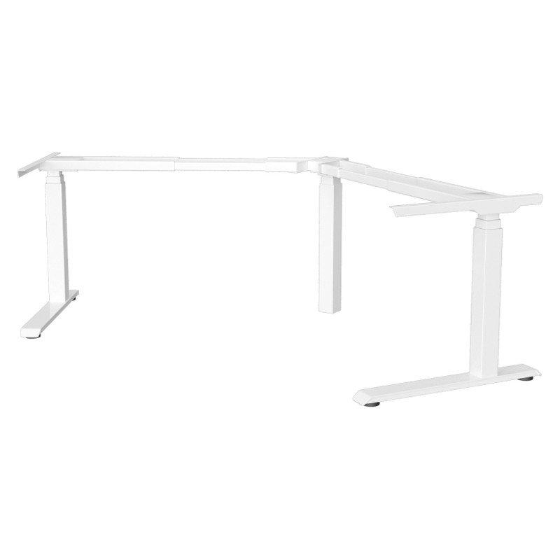 Strata Electric Height Adjustable Desk Corner   120° Frame Only