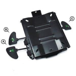 bExact 3 lever mechanism no seat slide