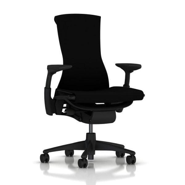 Embody Chair-Express-Graphite-Rhythm Black