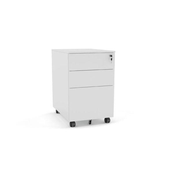 agile_mobile_2_drawer_metal_pedestal