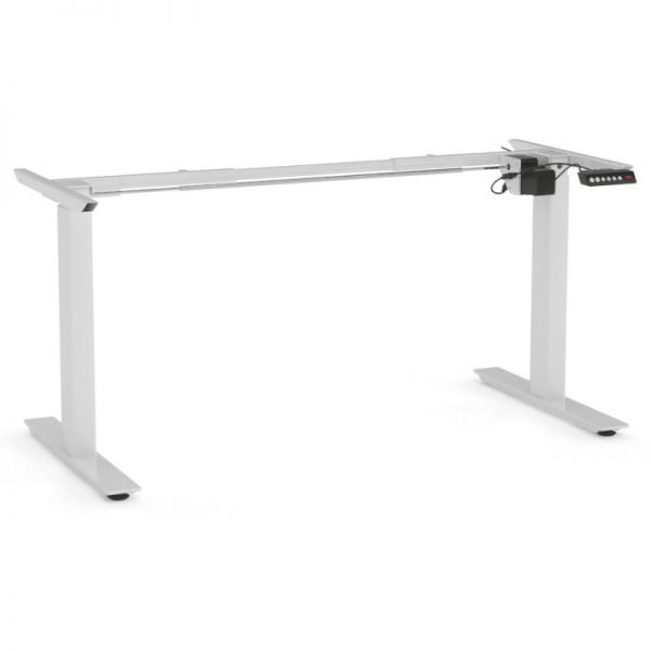 Agile Desk Frame White