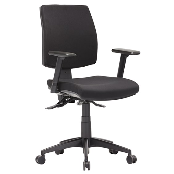 CLick Medium Back CHair with Arms