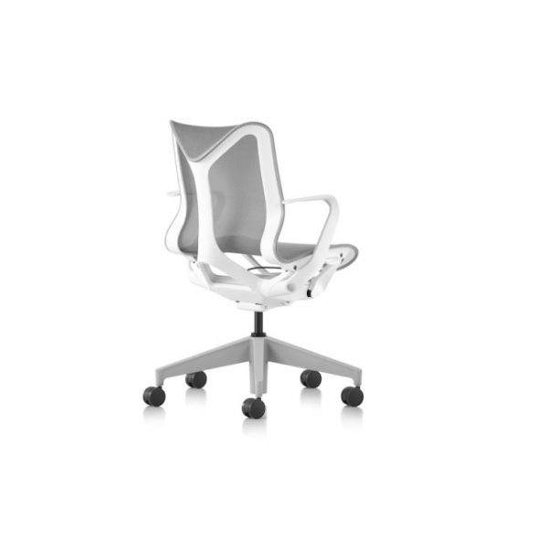 Cosm Low Back Chair Rear