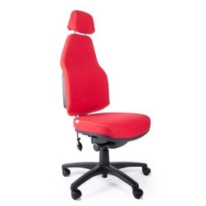 Flexi Plush High Back Chair with Headrest