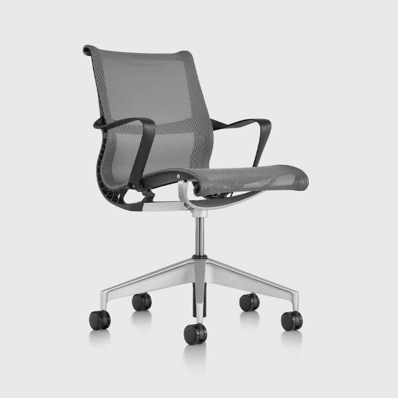 Task chair green