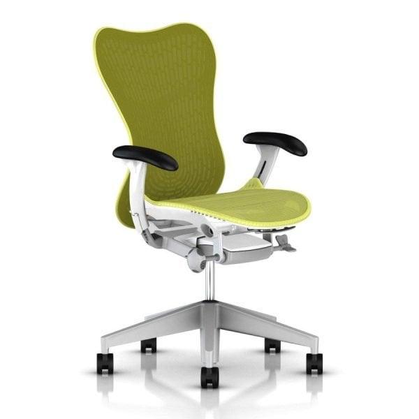 Herman Miller Mirra 2 Butterfly Chair Lime Green