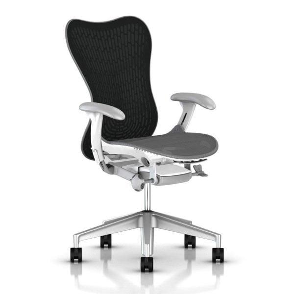Herman Miller Mirra 2 Butterfly Chair Graphite Slate Grey